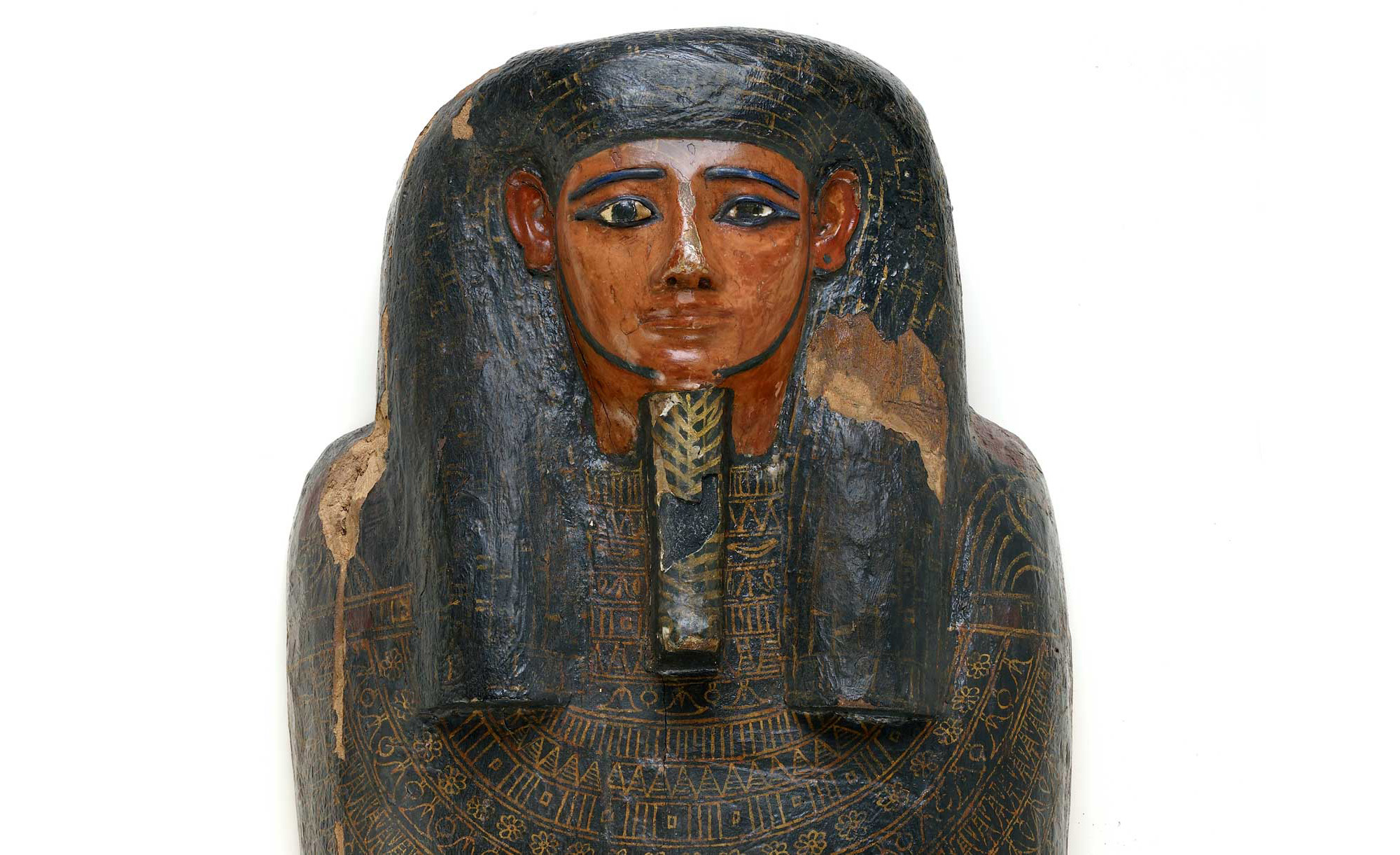 Coffin of Irethorrou, Egyptian, Akhmim, ca. 500 BC