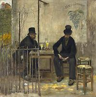 The Absinthe Drinkers, 1881