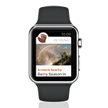The de Young App for Apple Watch