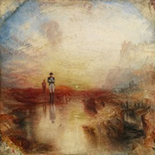 Joseph Mallord William Turner, War. The Exile and the Rock Limpet, exhibited 1842