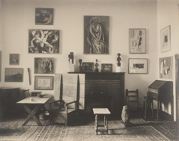 "Charles Sheeler, ""Interior, Arensberg's Apartment, New York"", 1919"