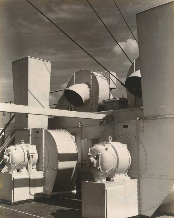 Charles Sheeler, Upper Deck, ca. 1928