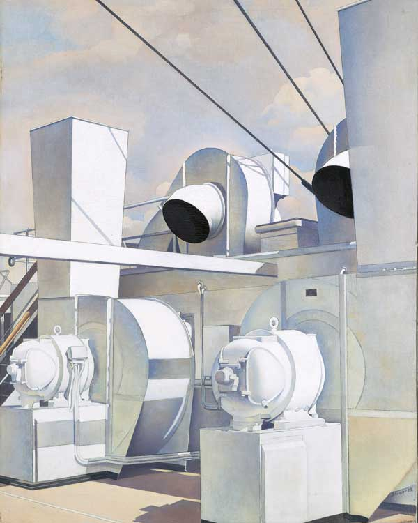 Charles Sheeler, Upper Deck, 1929