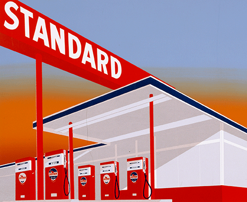 Ed Ruscha and the Great American West