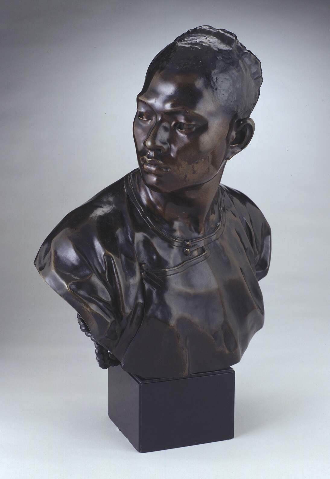 """Jean-Baptiste Carpeaux, """"Le Chinois (The Chinese Man),"""" ca. 1872"""
