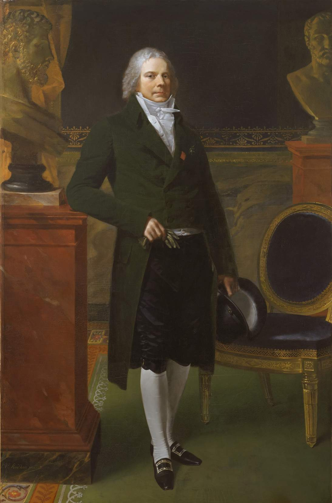 Charles Maurice de Talleyrand-Périgord by Pierre Paul Prud'hon