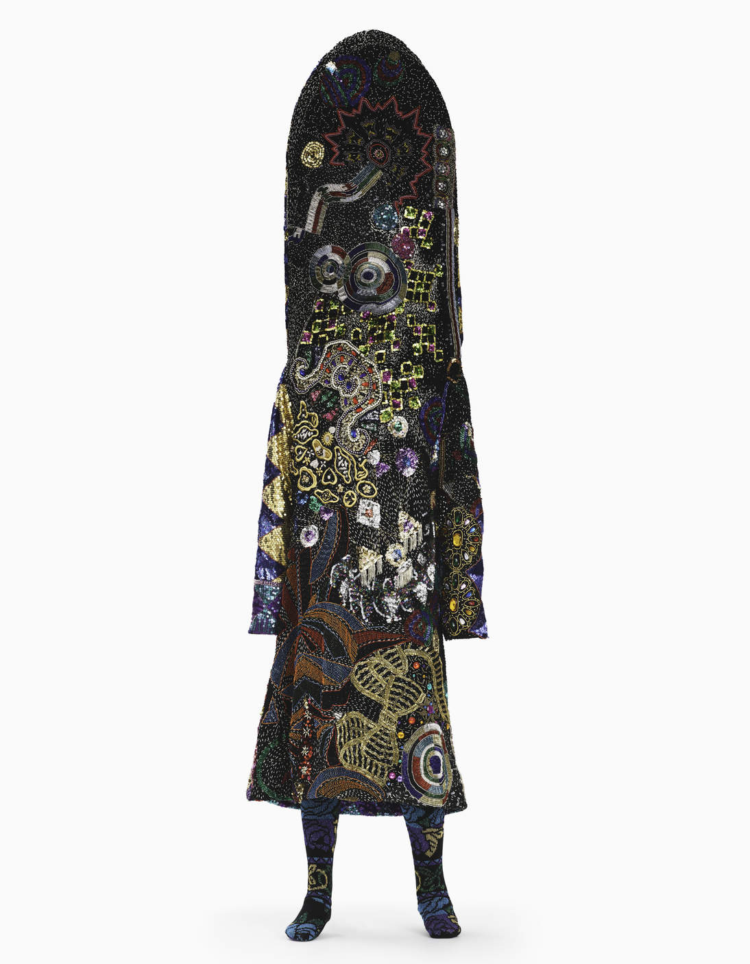 Nick Cave's Soundsuit is mixed media