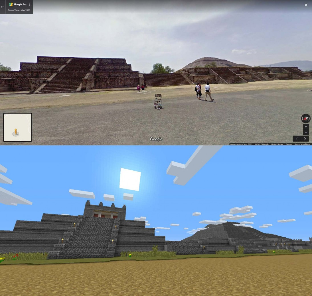 Google Street View comparison