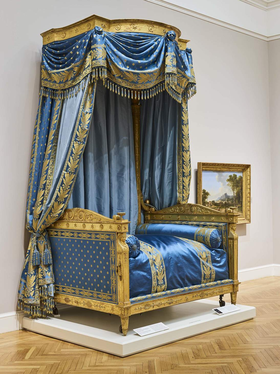 The Talleyrand Bed at the Legion of Honor