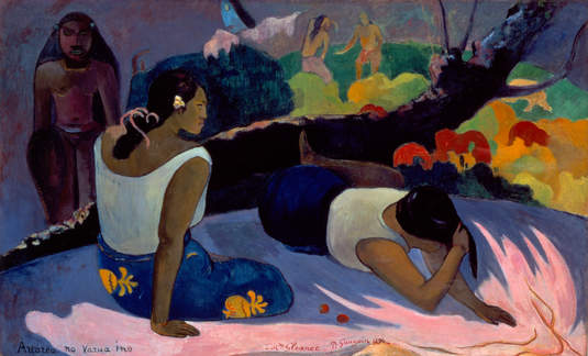 "Paul Gauguin (French, 1848–1903), ""Reclining Tahitian Women,"" 1894"