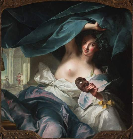 "Marc Nattier, ""Thalia, Muse of Comedy,"" 1739"