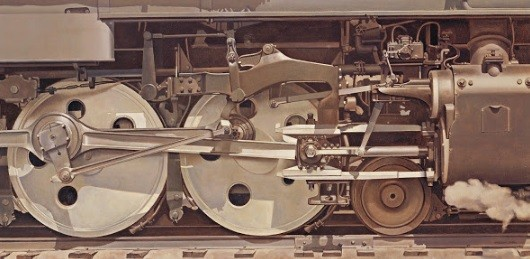"Charles Sheeler, ""Rolling Power,"" 1939"