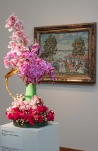 Floral Display by Loretta Altshuler of Branches and Petals