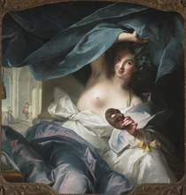 "Jean-Marc Nattier (French, 1685–1766), ""Thalia, Muse of Comedy"", 1739"