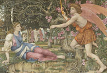 John Roddam Spencer StanhopeLove and the Maiden 1877 Legion of Honor Fine Arts Museums of San Francisco
