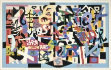 Stuart Davis, The Mellow Pad, 1945–1951