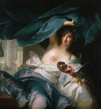 "Jean-Marc Nattier (French, 1685–1766), ""Thalia, Muse of Comedy,"" 1739"
