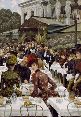 "James Tissot, ""The Artists' Wives"", 1885"