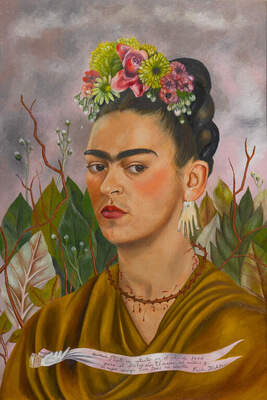 Frida Kahlo, Self-Portrait Dedicated to Dr. Leo Eloesser, 1940.